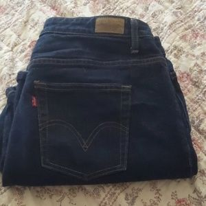 Levi's 580 bootcut jeans in 18W